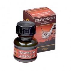 Тушь художественная Koh-i-noor Drawing Ink, умбра жженая, 20 мл.