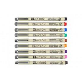 Цветные капилярные ручки Pigma Micron 05 (0,45 мм.) в ассортименте