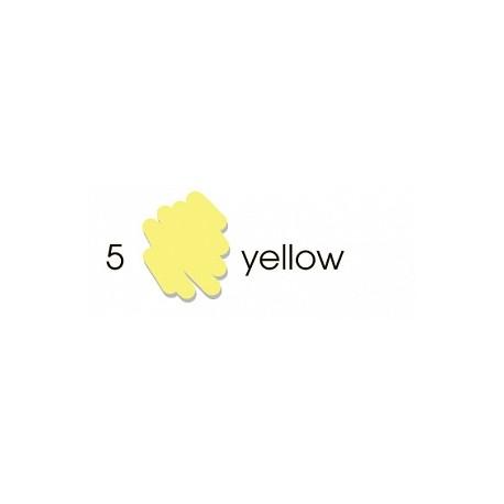 Маркер-кисть акварельный Marvy Artists Brush Желтый (№5, Yellow)