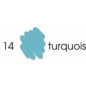 Маркер-кисть акварельный Marvy Artists Brush Бирюзовый (№14, Turqoise)
