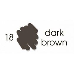 Маркер-кисть акварельный Marvy Artists Brush Темный коричневый (№18, Dark Brown)