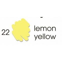 Маркер-кисть акварельный Marvy Artists Brush Лимонный (№22, Lemon Yellow)