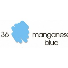 Маркер-кисть акварельный Marvy Artists Brush Марганец синий (№36, Manganese Blue)