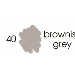 Маркер-кисть акварельный Marvy Artists Brush Коричнево-серый (№40, Brownish Grey)