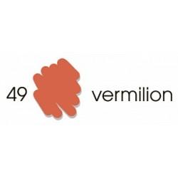 Маркер-кисть акварельный Marvy Artists Brush Вермилион (№49, Vermilion)