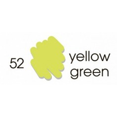 Маркер-кисть акварельный Marvy Artists Brush Желто-зеленый (№52, Yellow Green)