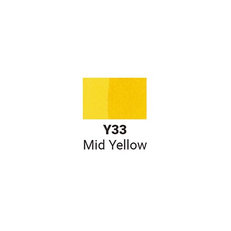 Sketchmarker Средний желтый (SMY33, Mid Yellow)