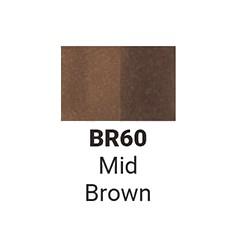 Маркер двусторонний Sketchmarker Средний коричневый (SMBR60,  Mid Brown)