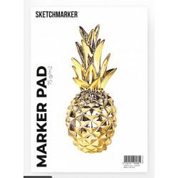 Склейка Sketchmarker Marker Pad А4, 75 г/м2, 50 листов