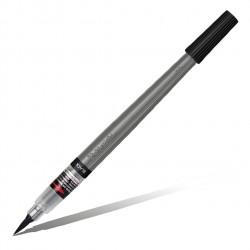Кисть с пигментными чернилами Pentel Colour Brush Pigment, черный цвет