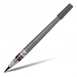 Кисть с пигментными чернилами Pentel Colour Brush Pigment, серый цвет