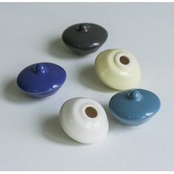 Крышечка для чернильница-непроливайка, керамика (9 цветов)