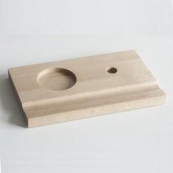 Подставка деревянная под чернильницу и держатель