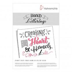 Альбом-склейка для леттеринга Hahnemuhle Hand Lettering,  А5., 25 л., 170 г/м2.