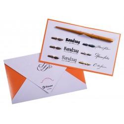 Подарочный набор для занятий каллиграфией Brause Calligraphy and Writing Set №1