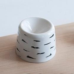 Чернильница-непроливайка керамическая Березка