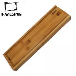 Деревянный пенал для кистей МЛ-100