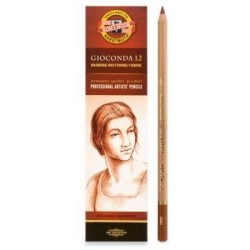 Пастельный карандаш Gioconda сепия  красно-коричневая
