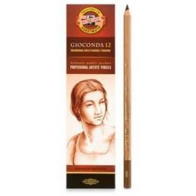 Пастельный карандаш Gioconda сепия коричневая светлая