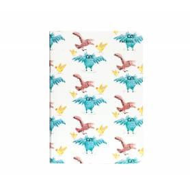 Блокнот Falafel books Owls A6, 40 л.