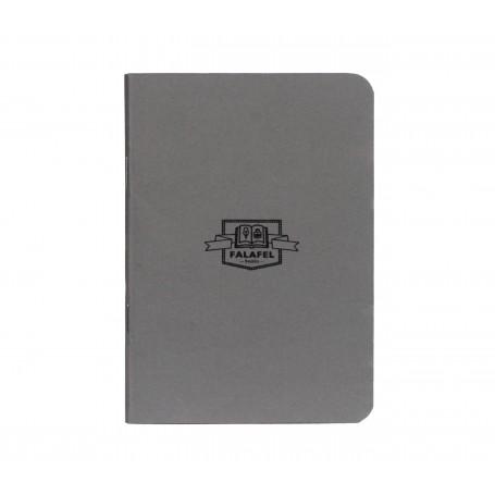 Блокнот Falafel books Dark Grey A6, 40 л.